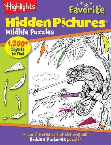 Favorite Hidden Pictures Wildlife Puzzles (Highlights™ Hidden Pictures®)