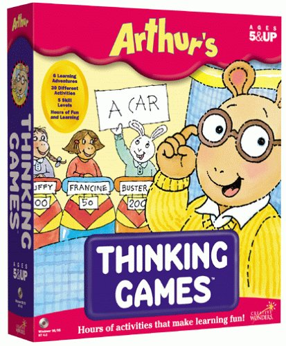 Arthur's Thinking Games by The Learning Company