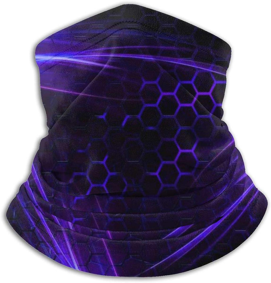 Geometry Dash Seamless Face Mask Bandanas Microfiber Neck Warmer Print for Men