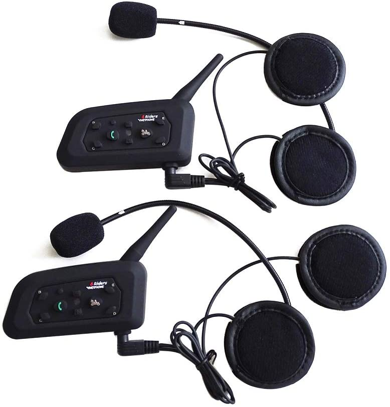 Motorcycle Intercom Bluetooth Headset For Biking