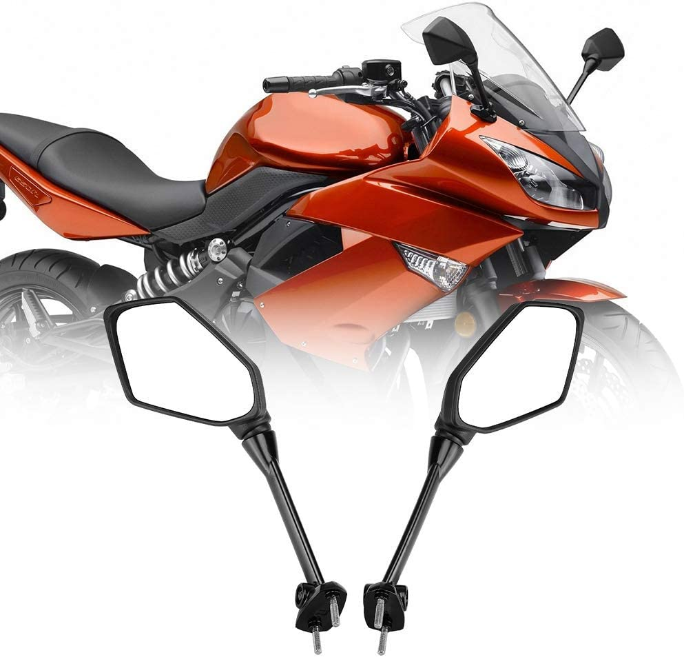 Amazon.com: Compatible con espejos laterales Kawasaki Ninja ...
