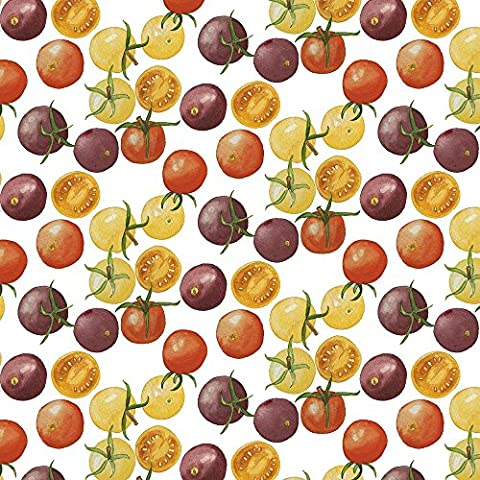 Heirloom Fabric Heirloom Cherry Tomatoes by Jillbyers Printed on Sport Lycra Fabric by the Yard by - 88 Heirloom Finish