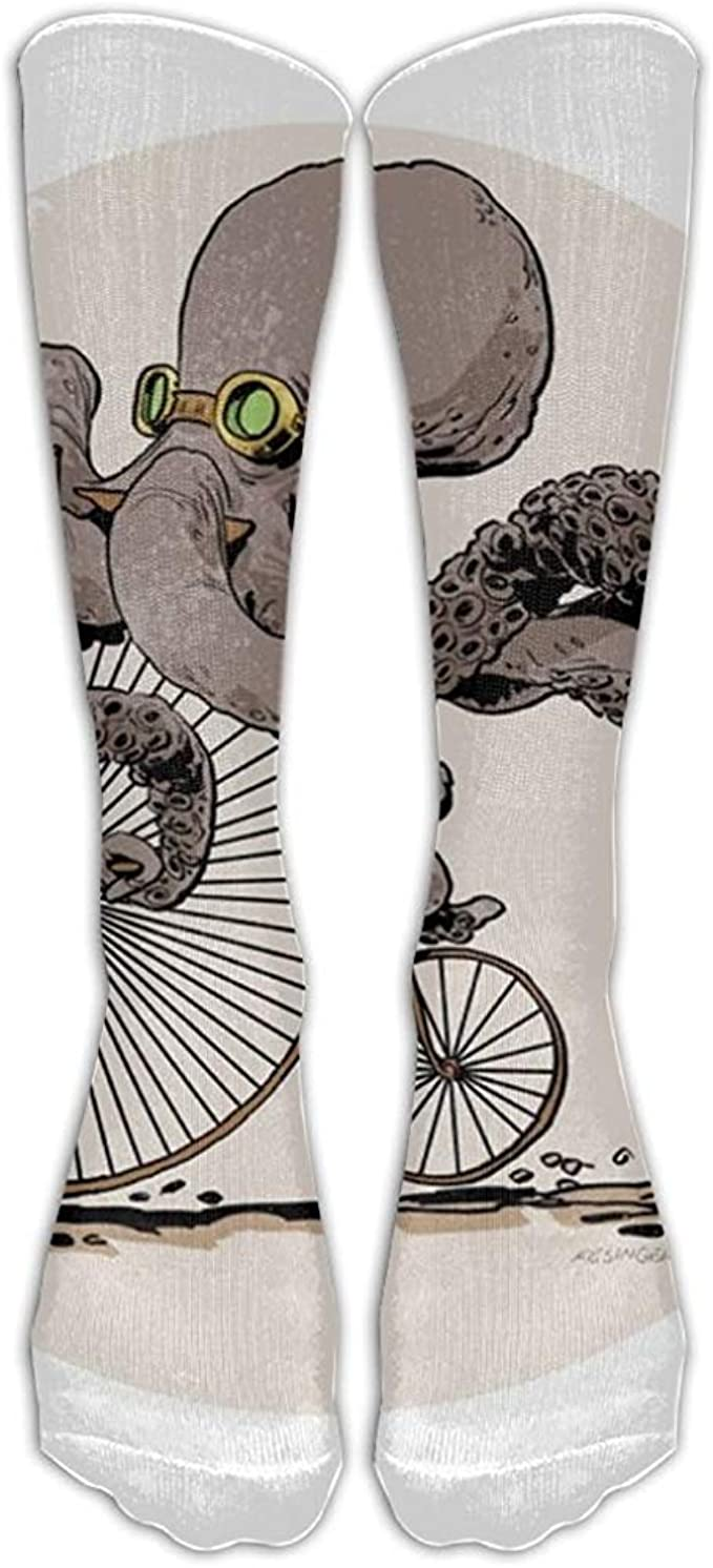KL Decor Calcetines, Tatuajes De Pulpo En Bicicleta Steampunk ...