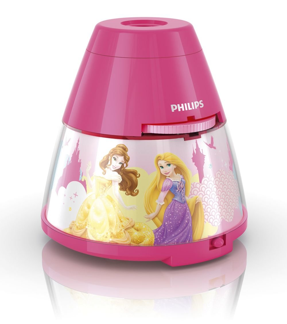 Philips Disney LED Projektor Tischleuchte Princess