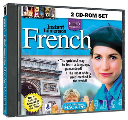 Instant Immersion French 2 CD-ROM Set (Jewel Case)