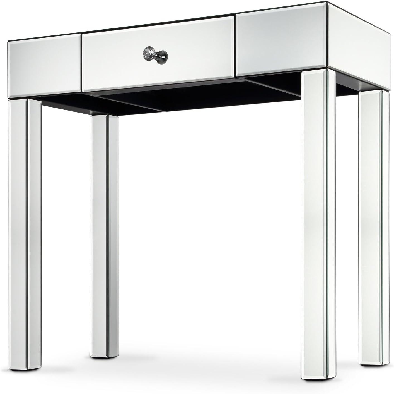 UK PLAQUE Mesa consola de pasillo con espejo con cajones ...