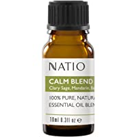 Natio Pure Essential Oil Blend, Calm 10 ml, Calm, 10 ml