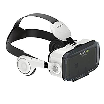 5962f7a4acbf Amazon.com  Morjava BoBo VR Z4 3D VR GLASS Head Mount Virtual Reality 3d  Video Glasses for 4~6   Android iOS Smartphones 3d Movies Google Cardboard   Home ...