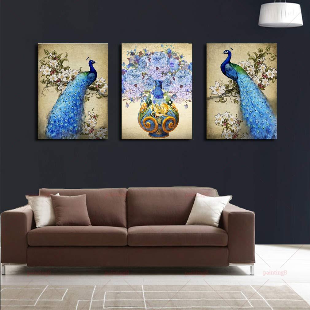 Amazon.com: DXYJUYI - Juego de 3 lienzos decorativos para ...