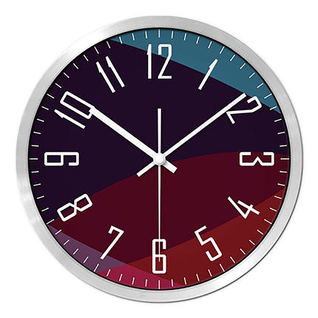 リビングルームクリエイティブ現代のクォーツ時計のベッドルーム静かなパーソナライズされたシンプルなファッションウォールクロック (色 : 1, サイズ さいず : S s) B07FPVVQ61 S s|1 1 S s