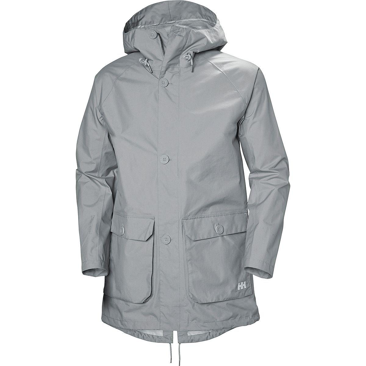 (ヘリーハンセン) Helly Hansen Elements Raincoat メンズ ジャケットSilver Grey [並行輸入品] B07BBMYF6G 日本サイズ M (US S)|Silver Grey Silver Grey 日本サイズ M (US S)