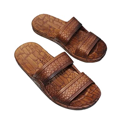 IMPERIAL SANDALS HAWAII Women Double Strap Jesus Style Hawaii Sandals, Unisex Sandal for Women Men and Teens | Shoes