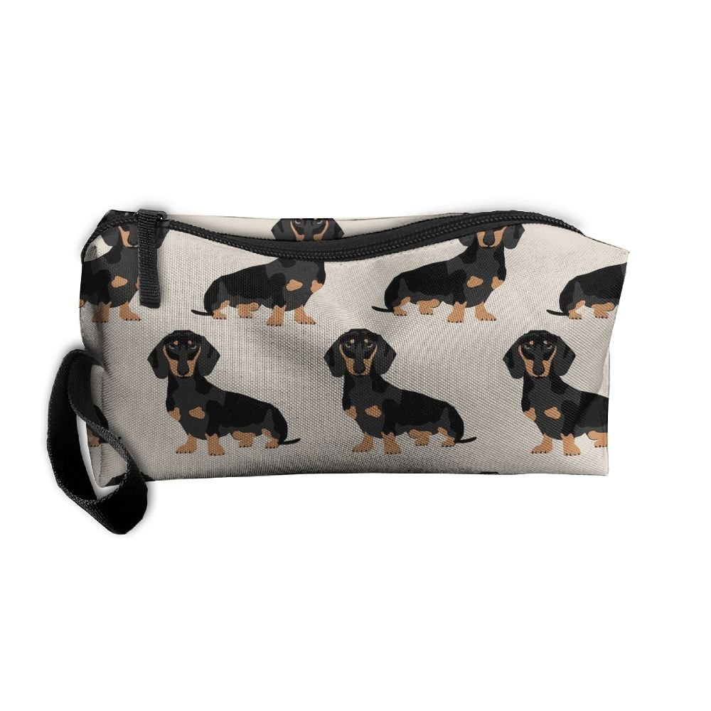 f5259821b8 Dressing Case Travel Wiener Dog Cosmetic Bags With Makeup Artist Case Multi  Functional Makeup Handbag For