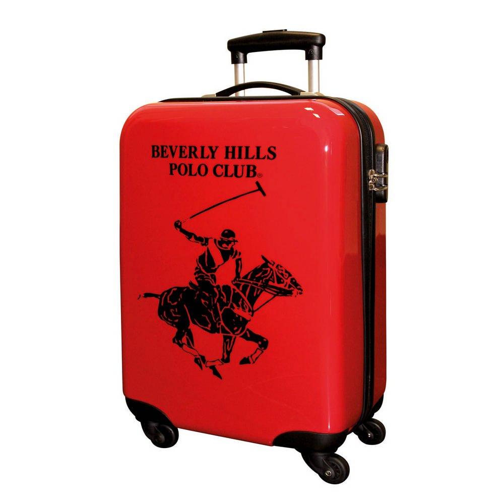 Beverly Hills Polo Club Maleta, 55 cm, ABS, 35 Litros, Rojo ...