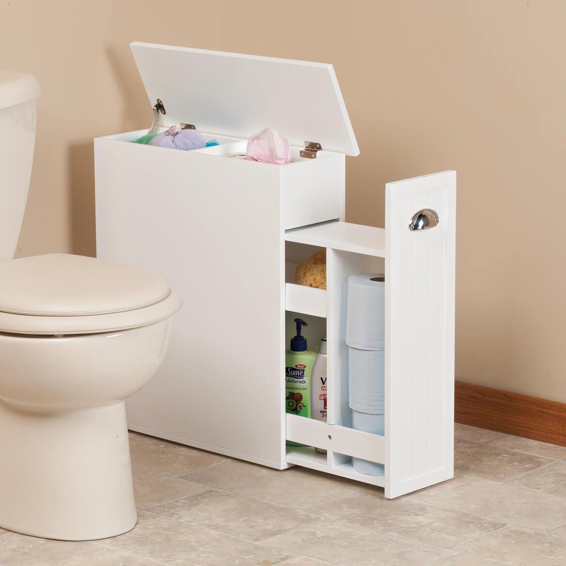 Amazon.com: Miles Kimball Slim Bathroom Storage Cabinet by ...