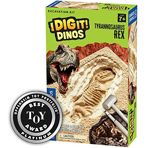 Thames & Kosmos I Dig It! Dinos T. Rex Excavation | Science Experiment Kit | Excavate A Tyrannosaurus Rex Dinosaur Dig Site | Paleontology | 2018 Oppenheim Toy Portfolio Platinum Award Winner