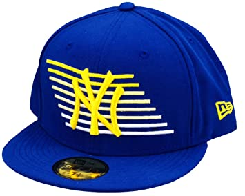 A NEW ERA York Yankees Gorra Deporte Motion - Bright Royal/Yellow ...