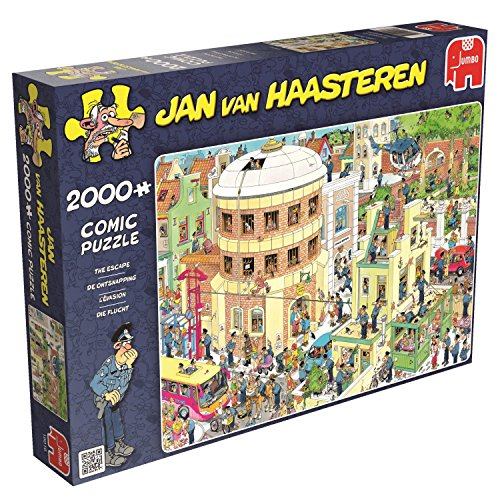 Jan Van Haasteren - The Escape - 2000 Piece Jigsaw Puzzle