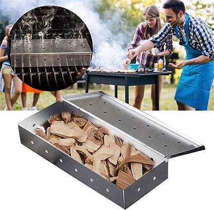 Fumeur Boîte avec 2 Sacs Assortiment de copeaux de bois