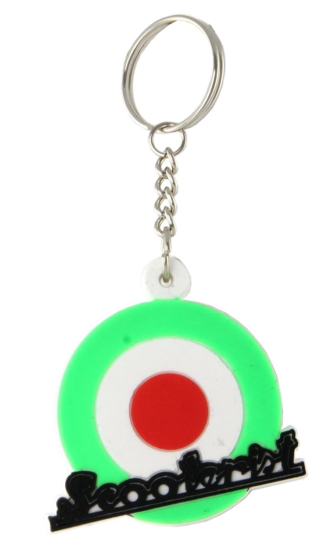 Llavero SIP Scoot erist Italia Target, Verde/Blanco/Rojo ...