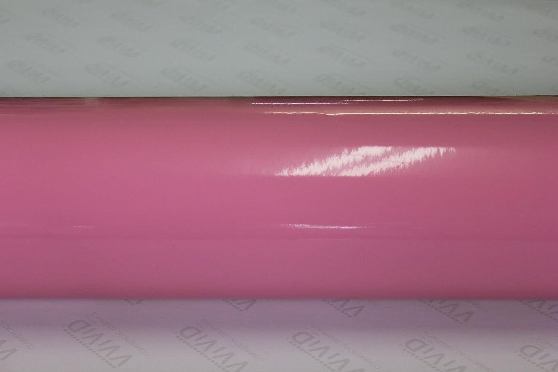 Pink Gloss 60 x 1ft Car Wrap Vinyl Roll with Air Release 3MIL-VViViD8 VViViD Vinyls BHBAZUKAZIND3181