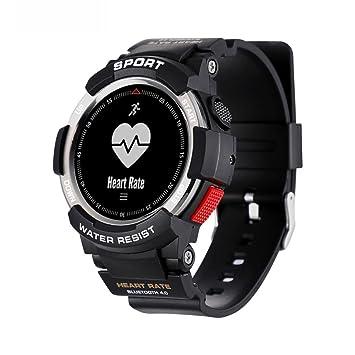 Reloj inteligente deportivo, VNEIRW Sport F6 Bluetooth 4.0 resistente al agua, reloj inteligente con