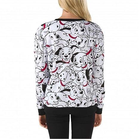 827789d215 Vans Disney 101 Mosh Crew Neck Sweatshirt (X-Large)  Amazon.ca  Clothing    Accessories
