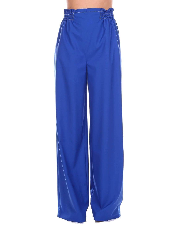 Agnona Women's U10237250OYB30 bluee Polyester Pants