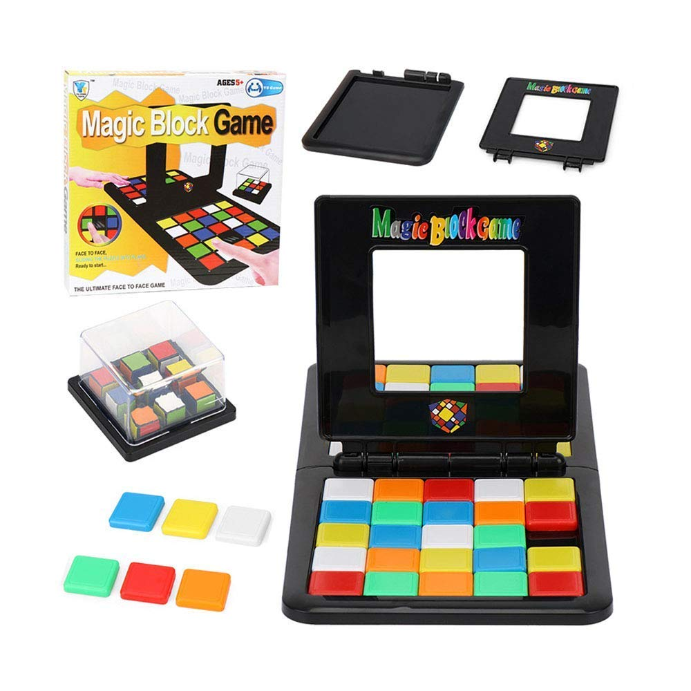 Rubiks Race Board Game Strategy Puzzle Party Magic Cube Kids Family Toy For Gift