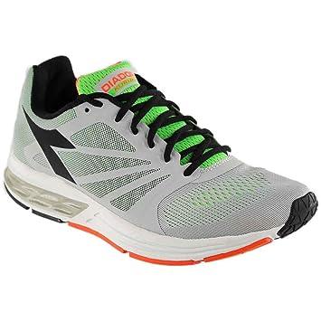 Diadora Zapatillas Running Zapatillas Jogging Hombre Kuruka Gray/Green Zapatos: Amazon.es: Deportes y aire libre