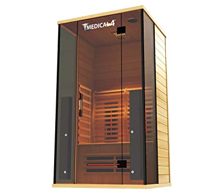 Amazon.com: Medical 4 Full Spectrum Home Sauna - Sauna para ...