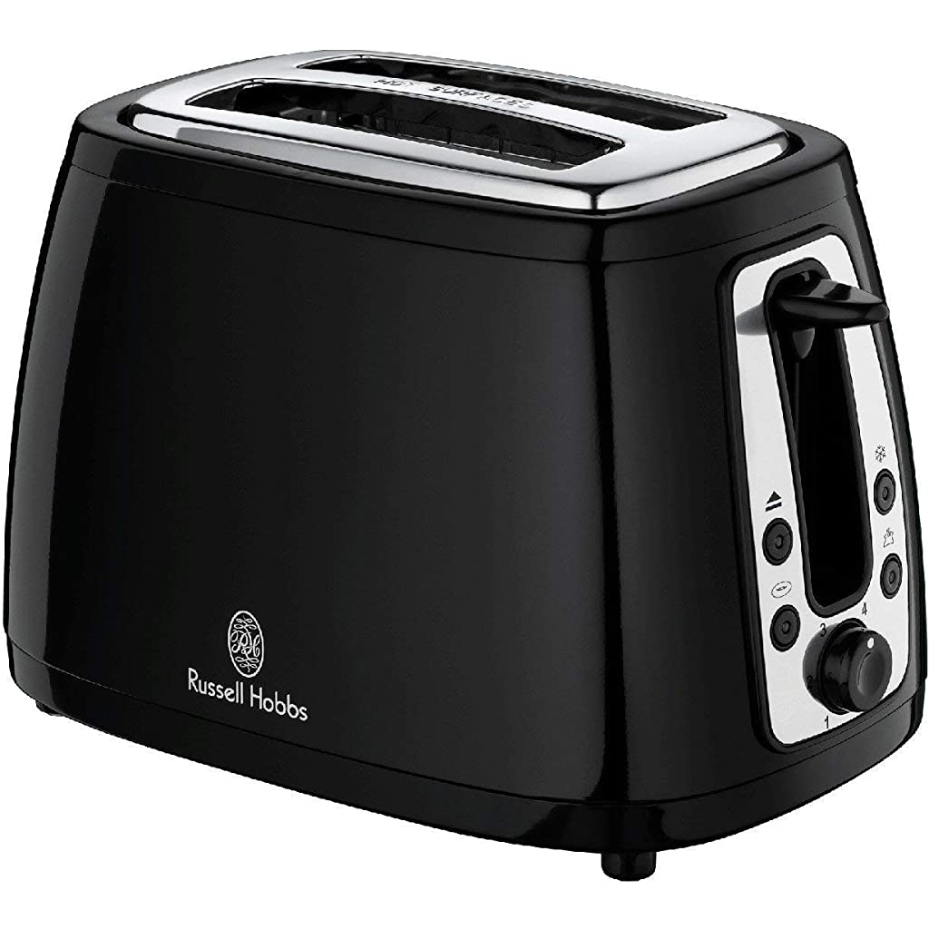 Russell Hobbs 18259 Heritage 2 Slice Toaster - Traditional Black