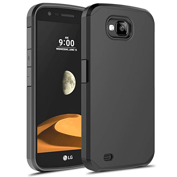 purchase cheap 268be 6b773 LG X Venture Case, LG X Clibur Case, Rosebono Hybrid Dual Layer Shockproof  Hard Cover Graphic Fashion Cute Colorful Silicone Skin Case for LG V9 - ...