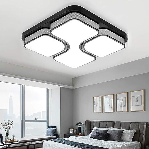 MYHOO 64W LED Blanco frío Luz de techo Diseño de moda moderna ...