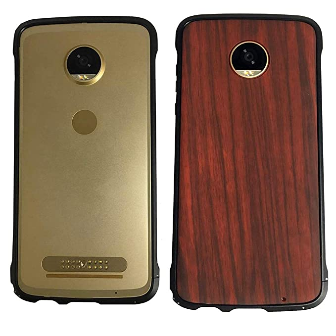 uk availability 18296 c9e8d Amazon.com: Moto Z2 Force Bumper Case Compatible Moto Mods Dngn ...
