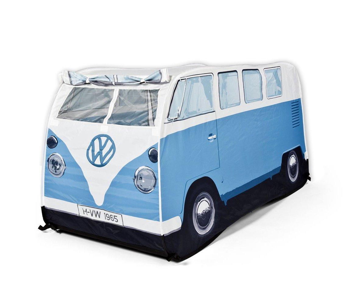 VW Bulli Spiele-Wurfzelt Blau für Kinder (77cm hoch)