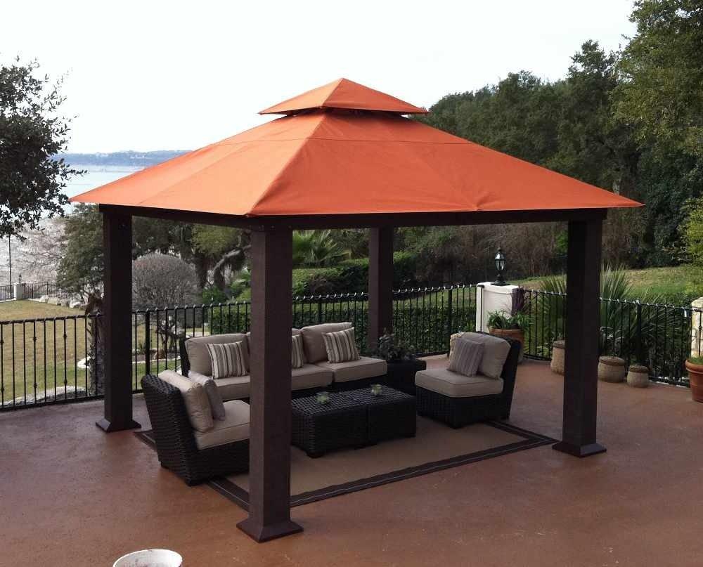 Amazon.com: STC gz734 Sevilla 12 x 12 ft. con Sunbrella ...