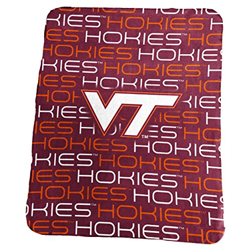 Virginia Tech Fleece (NCAA Virginia Tech Hokies Classic Fleece, One Size, Maroon)