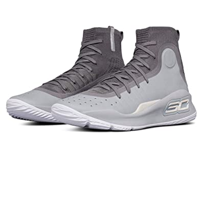 b0bd8252502 Under Armour Curry 4 Basketball Shoes - 11.5 Grey  Amazon.co.uk  Shoes    Bags