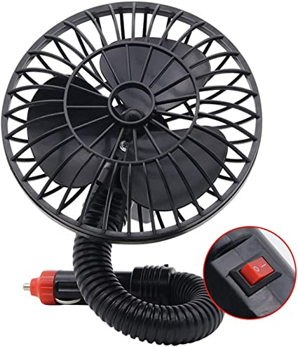 Ventilador Coche Fan en línea de 12V del ventilador de Wlectric ...
