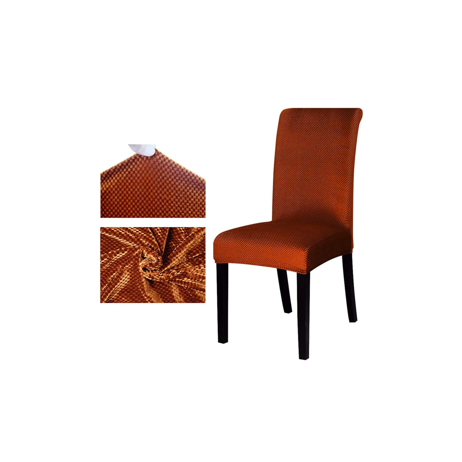 Amazon.com: Jacquard Pattern Universal Chair Cover Stretch ...