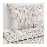 ikea duvet cover - Ikea Varart Duvet Cover and Pillowcases, Queen, Beige