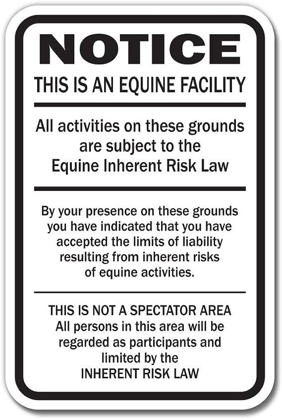 MINNESOTA Equine Sign activity liability warning statute horse farm barn stable