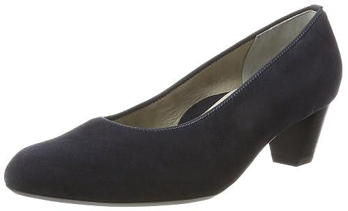 Ara Knokke, Zapatos de Tacón con Punta Cerrada para Mujer, Schwarz (Schwarz), 37.5 EU Ara
