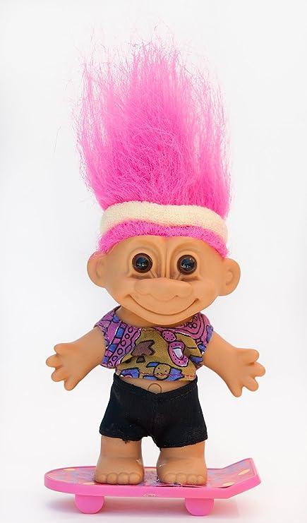 """BOY IN SWIMSUIT 3/"""" Russ Troll Doll NEW"""