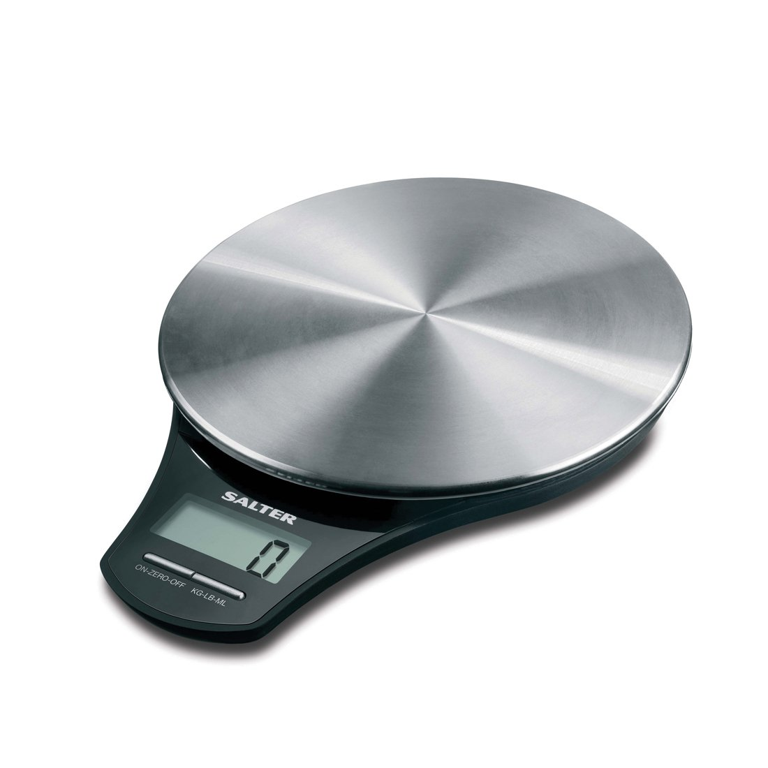 Salter Stainless Steel Digital Kitchen Weighing Scales - Electronic ...