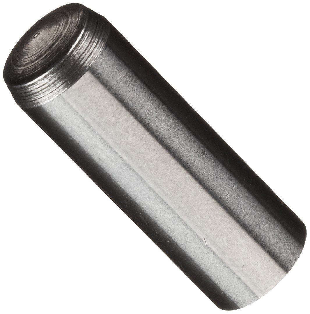 Unbrako 1115066 Alloy Steel Hardened Ground Machine Dowel Pin, Plain Finish, Meets ASME B18.8.5M, Standard Tolerance, 10 mm Nominal Diameter, 30 mm Length (Pack of 40)