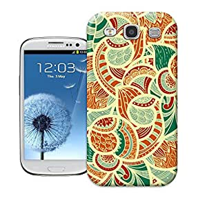tostore Online Very Convenient Flower patterns on case battery cover for samsung galaxy s3