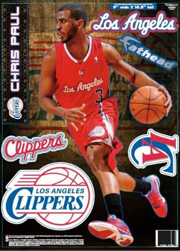 - Los Angeles Clippers Chris Paul 2013 Fathead Teammate Case Pack 6