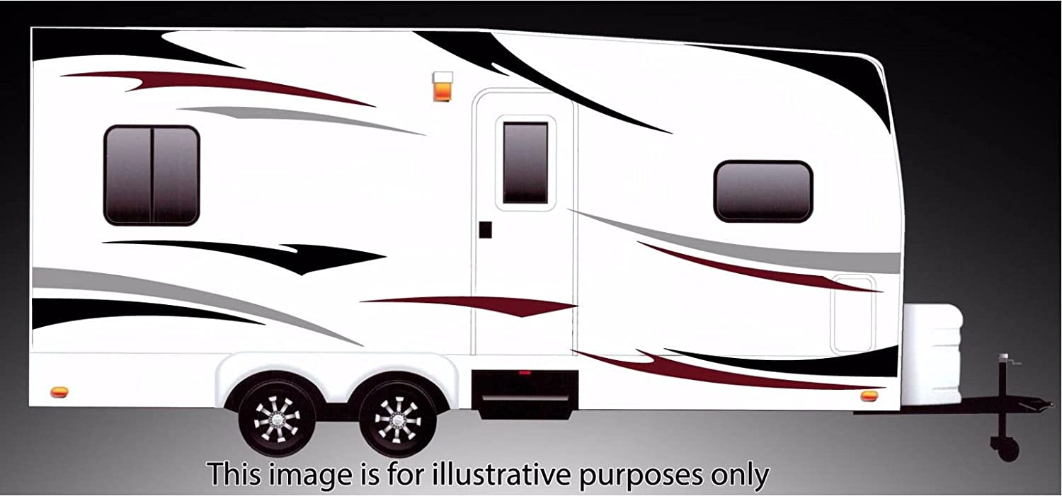 RV, Trailer Hauler, Camper, Motor-home Large Decals/Graphics Kits 24-k-3 DB Graphix